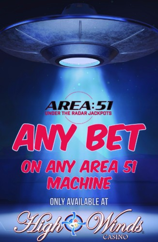 Any bet on any Area 51 machine