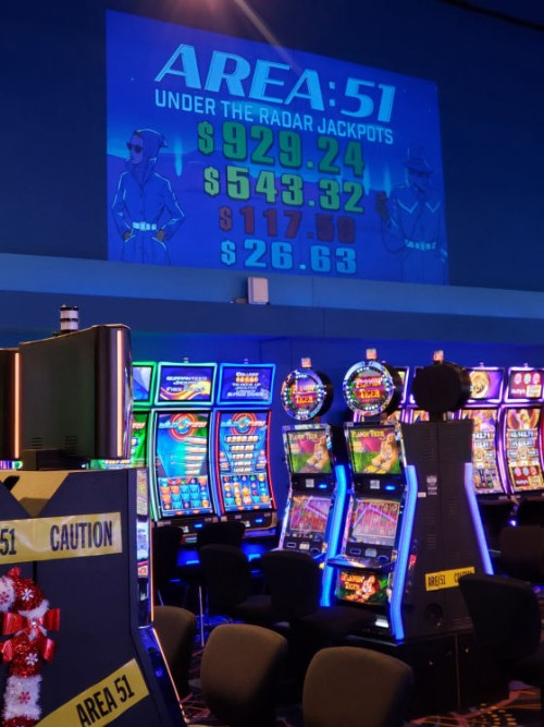 Area 51 inside the casino