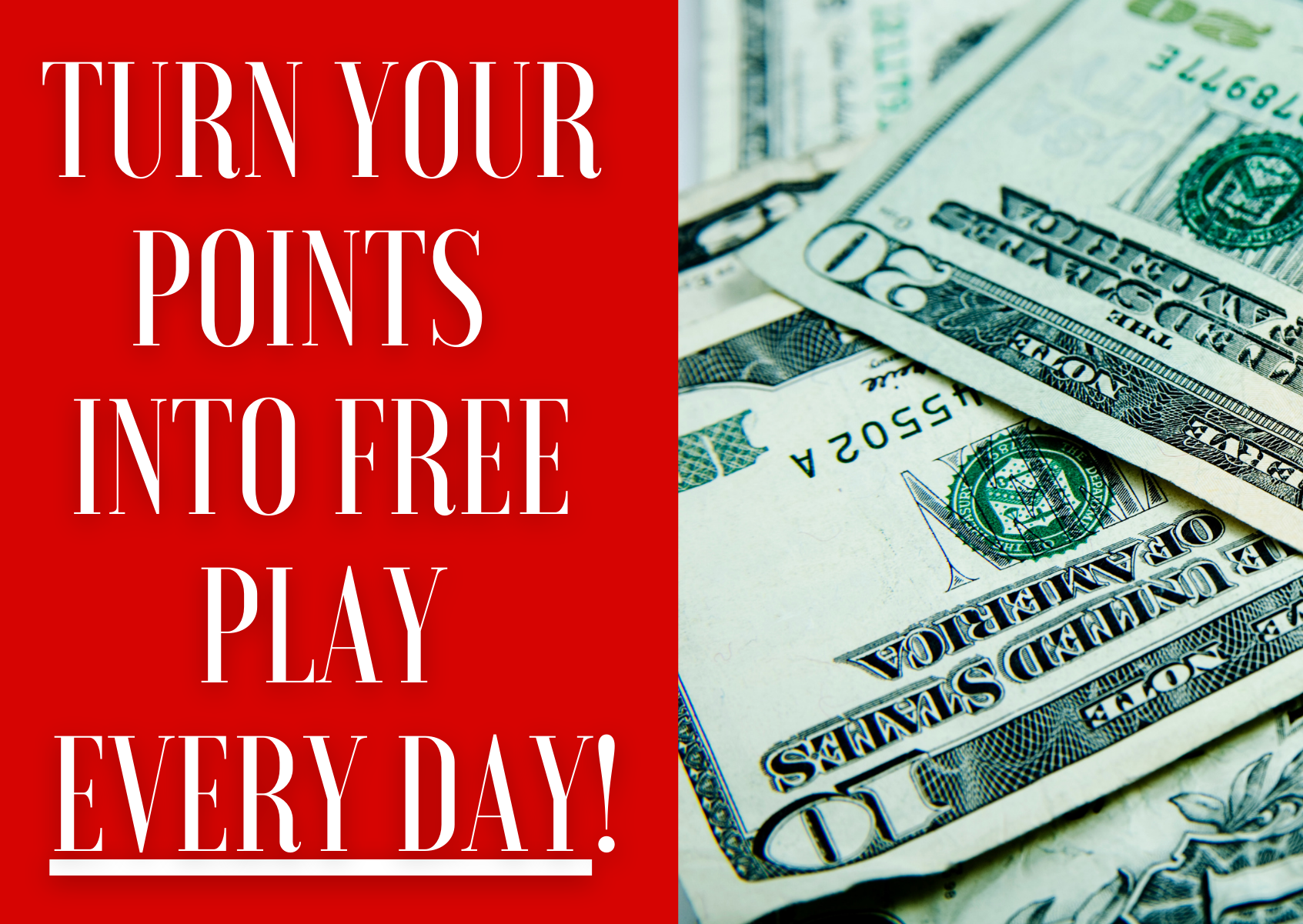 Points into Free Play